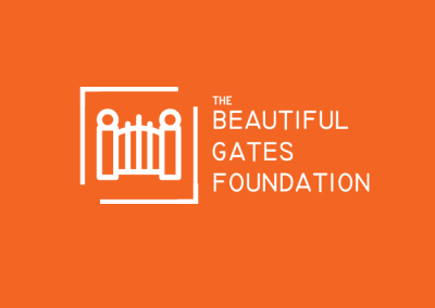 The Beautiful Gates Foundation Logo Design