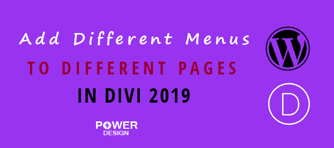 Easiest Way to Add Different Menus to Different Pages in Divi 2020